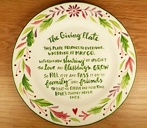 Richmond The Giving Plate
