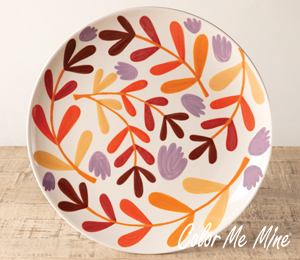 Richmond Fall Floral Charger
